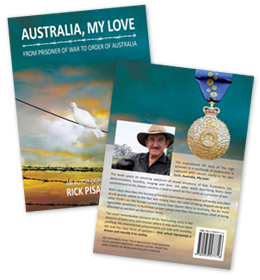Australia, My Love - Rick Pisaturo Life Story Book - Mandalong Studs Beef Cattle Breeding - Mandalong Specials, Tropicana, Square Meaters